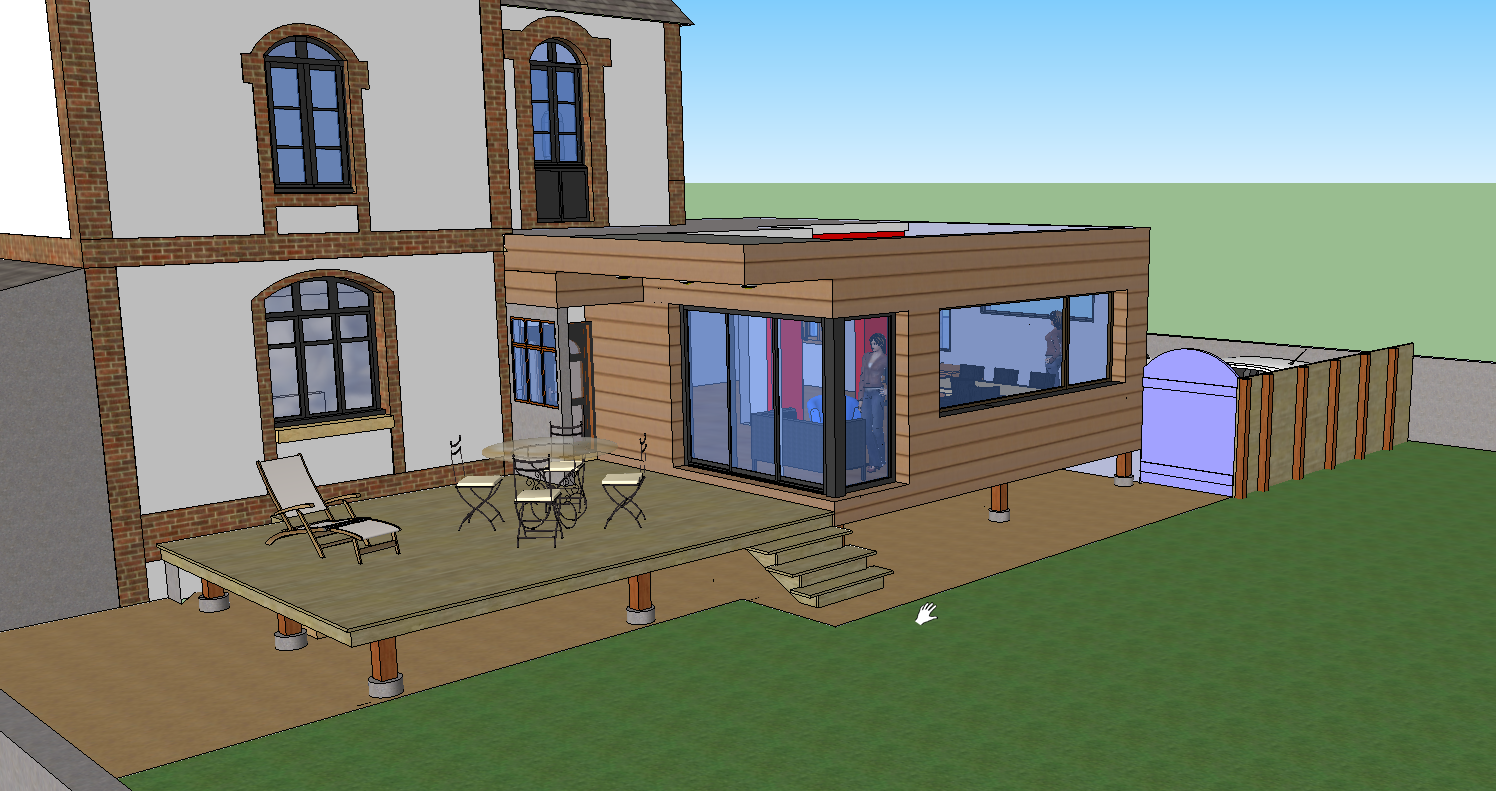 College jacques durand l 39 informatique et les tice for Sketchup plan maison